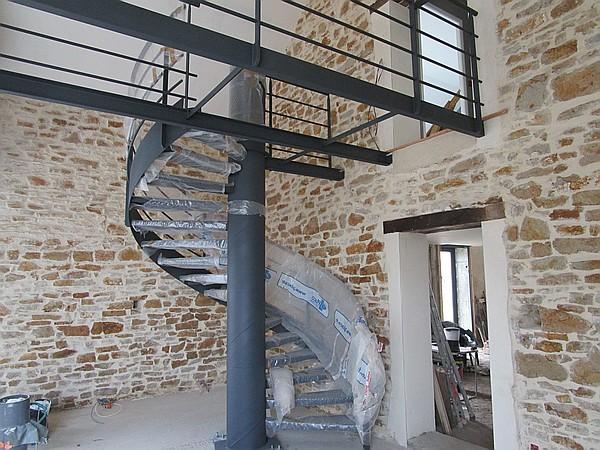 Fabuleux Ferronnerie industrielle dans l'Allier : art, portail, escalier et @AE_27